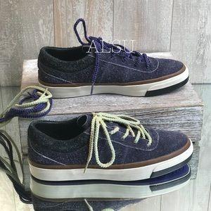 Converse CLOT&One Star Cc OX Suede Purple W AUTHEN